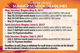 image of deadline dates